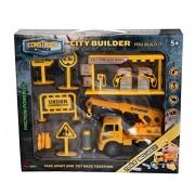 Construct A Truck-City Builder Set-Crane.Create a city construction site