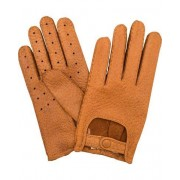 Hestra Peccary Driving Glove Light Brown