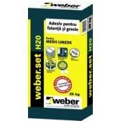Adeziv weber.set H20 25KG liber de praf