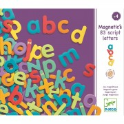 Set Litere mici magnetice, 83 piese