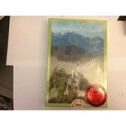 Educa 500 Piece Puzzle + Fix Puzzle - Neuschwanstein Castle