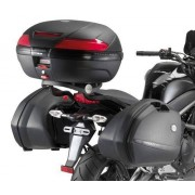 Kappa Attacco Posteriore Specifico Per Bauletto Monokey O Monolock Kz449 Kawasaki Er 6n / Er 6f 650 Dal 2009 Al 2011