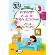 Culegere de exercitii pentru limba romana JOCUL CUVINTELOR, clasa a III-a/Liliana Catruna, Natalia Dan