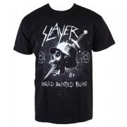tricou stil metal bărbați Slayer - Dagger Skull - ROCK OFF - SLAYTEE27MB