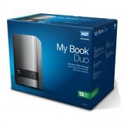 Външен твърд диск Western Digital My Book Duo Premium 12TB RAID Storage, 2 x USB 3.0