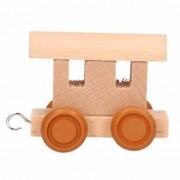 Merkloos Lettertrein wagon