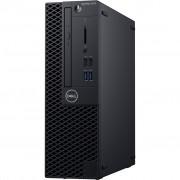 PC Dell OptiPlex 3070, 7KTHG, SFF, Intel Core i3 9100 3.6GHz, 1TB HDD, 4GB, Intel UHD 630, Windows 10 Professional, crna, 12mj, Tipk., Miš