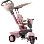 Детска 4 в 1 триколка - Dream, smarTrike, розова, 011039