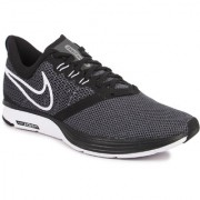 Nike Men's Zoom Strike Black Sports Shoes