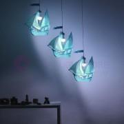 Linea Zero Illuminazione Peter Pan Vascello 3d Sospensione Cameretta Bimbi