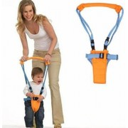 Cute Toddler Walk Toddler Safety Harness Assistant Walk Learning Walking Harnesses Leashes (Blue Orange)