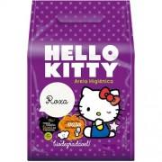 Areia para Gato Hello Kitty Bio Roxa - 2kg