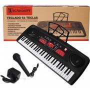 Teclado Musical Profesional Con 54 Teclas+fabulosos Regalos