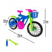Puzzles - Large Simulation Kids Model Plastic Colorful Bike Bicycle Assembly DIY Educational Creative Toys Repair Tools - Bike Puzzle Toys , Assembly Games By Shuban