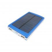 Portable Slim Power Bank Cargador Solar De Emergencia Alta Capacidad 20000mAh Cargador De Batería Dual USB