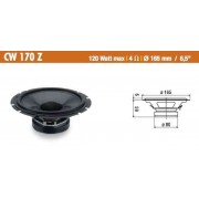 Woofer 165mm Ciare CW170Z