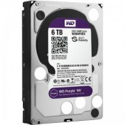 Твърд Диск WD HDD 6TB SATAIII WD Purple 7200rpm 64MB for NVR/Surveillance (3 years warranty) - WD6NPURX