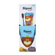 Signal Set pentru dinți perfect curati pentru copii Fruity (Pastă de dinti + perie de dinti)