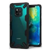 Husa Protectie Spate Ringke Fusion X Transparent / Negru pentru Huawei Mate 20 Pro