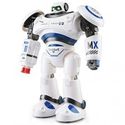 BTG JJRC R1 Defender Remote Control Intelligent Combat Robot Toy for Kids - Walks in All Direction, Slides, Turns Around, Dances, Shoots Missiles and Other Function - Super Fun Toy for Boys and Girls