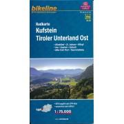 Fietskaart A13 Bikeline Radkarte Kufstein - Tiroler Unterland Ost | Esterbauer