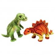 "Small foot company Dinosauri ""Ronny & Conny"" Peluche in Morbido Tessuto Set da 2"
