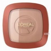 L'OREAL L'Oréal - GLAM BRONZE - Bronzer + rozświetlacz - 101 - BLONDE HARMONY