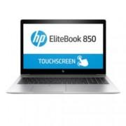 "Лаптоп HP EliteBook 850 G5 (2FH28AV_30048557)(сив) с подарък докинг станция HP 2013 UltraSlim, четириядрен Core i7-8550U 1.8/4.0 GHz, 15.6""(39.62 cm) FHD IPS UWVA Touch дисплей & AMD Radeon RX 540 2GB, 16GB DDR4, 512GB SSD, Windows 10 Pro, LTE (4G)"