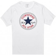 Converse Tricou pentru bărbați Chuck Patch Tee White XXL
