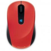 Microsoft Mouse Sculpt Mobile Red Microsoft