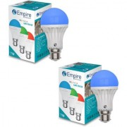 SWARA B22 7W COLOR LED BULB BLUE- PACK OF 2