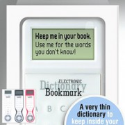 Electronic Dictionary Bookmarks
