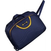 TORRENTO (Expandable) STYLISH TRAVELLING IN BEST QUALITY FABRIC TWO WHEEL DUUFEL BAG 22 INCH Travel Duffel Bag(Blue)