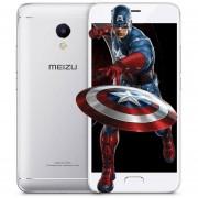 "Smartphone MEIZU M5S 5.2 ""3 GB RAM 32 GB ROM 5.0MP + 13.0MP-Blanco"