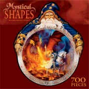 700 Piece Mystical Shapes Puzzle- Wizard Shaped