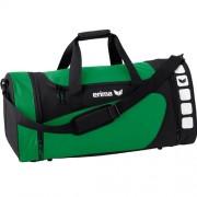 erima Sporttasche 5-CUBES (mit Nassfach) - smaragd/schwarz | S