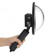 Dome pentru filmari subacvatice compatibil GoPro Hero 5, 6 (Negru)