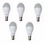VPL India LED Bulb 9 Watt For 5 Piece