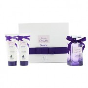 Jeanne Lanvin Couture Coffret: Eau De Parfum Spray 100ml/3.4oz + Body Lotion 100ml/3.3oz + Shower Gel 100ml/3.3oz 3pcs Jeanne Lanvin Couture Комплект: Парфțм Спрей 100мл +Лосион за Тяло 100мл + Душ Гел 100мл
