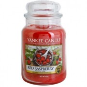 Yankee Candle Red Raspberry ароматна свещ Classic голяма 623 гр.