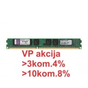 KINGSTON ** 4GB RAM memorija DDR3 1333 (PC3-10600, CL9) 240-Pin KVR13N9S8/4