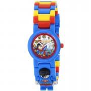 Lego Reloj de pulsera con Minifigura de Superman - Lego DC Comics Super Heroes