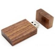 nexShop Natural Bamboo Wooden Series Creative Light Weight USB 8 GB Pen Drive(White, Brown)