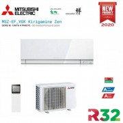 Mitsubishi Climatizzatore Condizionatore Mitsubishi Electric Inverter Kirigamine Zen Msz-Ef42ve3w White 15000 Btu