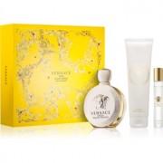 Versace Eros Pour Femme coffret II. Eau de Parfum 100 ml + leite corporal 150 ml + eau de parfum em roll-on 10 ml