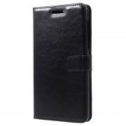 Nokia 6 Classic Wallet Case - Black