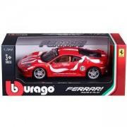Метална количка, Bburago Ferrari - модел на кола 1:24 - F430 Fiorano, 093917
