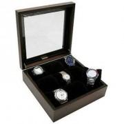 Donare Porta Relógios com 09 Divisórias Madeira