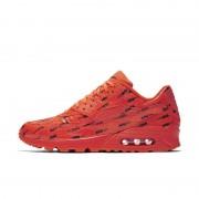 Nike Sko Nike Air Max 90 Premium för män - Röd