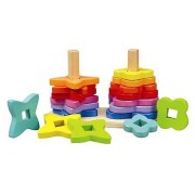 HAPE E0406 Double rainbow stacker E0406